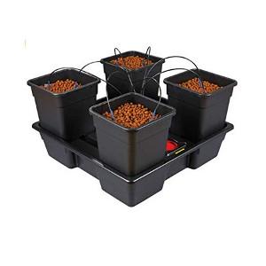 4 pot hydronic kit