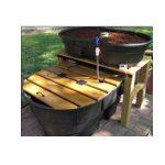 DIY garden aquaponics
