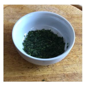 fresh mint sauce